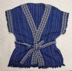 {Lucky Brand} Belt Tie Kimono